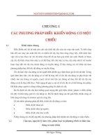 Điều khiển động cơ điện một chiều_Chương 1