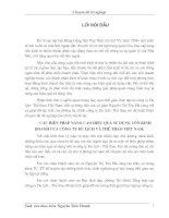526Lợi nhuận và một số phương hướng biện pháp nhằm tăng lợi nhuận tại Công ty TNHH sản Xuất & Thương mại Trần Vũ (58tr)