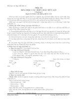 Sổ tay hóa học phổ thông - phần Huu co