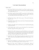 KHÓA LUẬN TỐT NGHIỆP: THIẾT LẬP QUI TRÌNH SOUTHERN BLOT (tài liệu tham khảo)