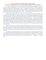"""Trường THPT Chuyên Tiền Giang tổ chức hội thảo  """"Phát huy khả năng tự học tự rèn của học sinh Trung học phổ thông Chuyên"""""""