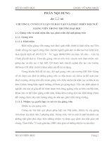ĐÀO TẠO VÀ PHÁT TRIỂN ĐỘI NGŨ GIẢNG VIÊN TRONG TRƯỜNG ĐẠI HỌC
