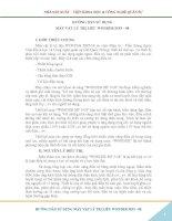 Hướng Dẫn Sử Dụng Máy Vật Lý Trị Liệu Wonder MF 5-08