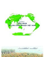 tổng quan về khu công nghiệp Việt Nam