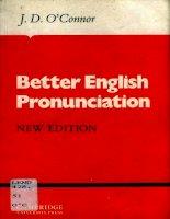 Better English Pronunciation