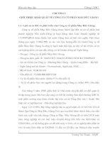 Báo cáo thực tập tại Công ty cổ phần May Đức Giang.