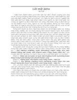 645 XÂY DỰNG CHƯƠNG TRÌNH MARKETING TRỰC TIẾP CHO HOẠT ĐỘNG KINH DOANH KHÁCH SẠN