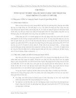 Tổng quan về điều tra trong quy hoạch và quản lý giao thông đô thị