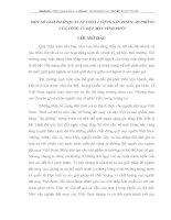 MỘT SỐ GIẢI PHÁP QUẢN LÝ CHẤT LƯỢNG SẢN PHẨM ÁO PHÔNG CỦA CÔNG TY DỆT MAY VĨNH PHÚC