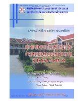 Đề xuất biện pháp nâng cao uy tín của hiệu trưởng ở trường  THCS Nguyễn Khuyến