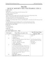 Giáo án Đạo Đức lớp 2 - Bài Lịch sự khi đến nhà người khác