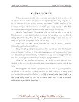 LỊCH SỬ NGHIÊN CỨU, VAI TRÒ SINH LÝ VÀ TẦM QUAN TRỌNG KINH TẾ CỦA CÁC HOOCMON THỰC VẬT