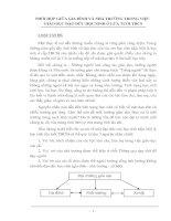 PHỐI HỢP GIỮA GIA ĐÌNH VÀ NHÀ TRƯỜNG TRONG VIỆC  GIÁO DỤC ĐẠO ĐỨC HỌC SINH Ở LỨA TUỔI THCS