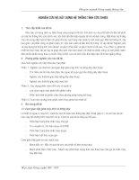 NGHIÊN CỨU VÀ XÂY DỰNG HỆ THỐNG TÍNH CƯỚC GHISE