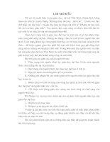 NHIỆM VỤ VÀ MỤC TIÊU CHIẾN LƯỢC CHO SỰ PHÁT TRIỂN NGUỒN NHÂN LỰC CỦA GIÁO DỤC ĐẠI HỌC