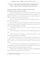 Thực trạng về hoạch định chiến lược kinh doanh của công ty TNHH  Nhà nước một thành viên Dệt 19/5 Hà Nội