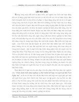 TÌNH HÌNH TRIỂN KHAI NGHIỆP VỤ BẢO HIỂM KẾT HỢP CON NGƯỜI TẠI BẢO VIỆT NGHỆ AN