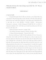 Những lớp từ bị hạn chế về mặt sử dụng trong từ  điển Việt – Bồ- Nha của  Alexandre de Rhodes