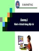 Chương 2: Hành vi của khách hàng điện tử