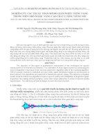 nghiên cứu các thuật toán mờ để giảm nhiễu tiếng vang trong miền phổ nhằm nâng cao chất lượng tiếng nói