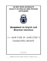 "jane Eyre in ""Jane Eyre""'s Charlottle BronTE"