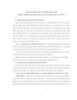 Phân tích khái niệm nguồn, luật hành chính ,Việt Nam