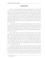 357 Thực trạng và một số giải pháp Marketing mix của Công ty TNHH Thương Mại và Dịch Vụ Trần Anh