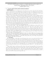 SỬ DỤNG PHẦN MỀM VIOLET 1.7 THIẾT KẾ BÀI GIẢNG ĐIỆN TỬ GIẢNG DẠY  BỘ MÔN NGỮ VĂN LỚP 9.  ( PHÂN MÔN VĂN)