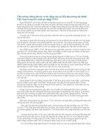 Thị trường chứng khoán và tác động của nó đến thị trường tài chính Việt Nam trong bối cảnh gia nhập WTO
