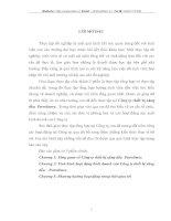 TÌNH HÌNH HOẠT ĐỘNG KINH DOANH  CỦA CÔNG TY THIẾT BỊ XĂNG DẦU PETROLIMEX
