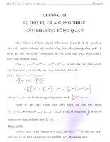 sự hội tụ của công thức cầu phương tổng quát