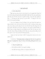 GIẢI PHÁP NÂNG CAO ĐỘNG LỰC LÀM VIỆC CHO NGƯỜI LAO ĐỘNG TẠI XÍ NGHIỆP BAY CHỤP VÀ XỬ LÝ ẢNH HÀNG KHÔNG HÀ NỘI
