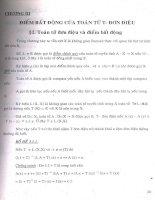 Nghiệm Dương của một số lớp  phương trình Toán tử 6