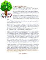 Cây xanh và môi trường đô thị