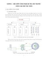Thiết kế truyền động máy mài tròn