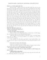 CÁC DẠNG BÀI TẬP VÀ PHƯƠNG PHÁP GIẢI BÀI TẬP SINH HỌC