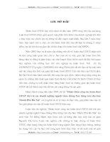 HOÀN THIỆN CÔNG TÁC HOÀN THUẾ GTGT ĐỐI VỚI CÁC DOANH NGHIỆP NGÀNH GIAO THÔNG XÂY DỰNG TRÊN ĐỊA BÀN THÀNH PHỐ HÀ NỘI