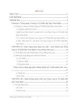 Định hướng phát triển của Tổng công ty cổ phần Dệt may Nam Định