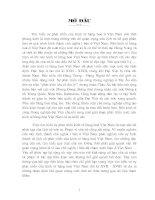 TÌM HIỂU SỰ PHÁT TRIỂN CỦA KINH TẾ HÀNG HÓA VIỆT NAM THẾ KỈ XVII - XVIII