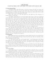 CÁCH TẠO HỌA TIẾT GIÚP HỌC TỐT PHÂN MÔN TRANG TRÍ
