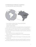 Đánh giá nền kinh tế Brazil