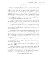GIẢI PHÁP NHẰM NÂNG CAO HIỆU QUẢ ĐẦU TƯ PHÁT TRIỂN KINH TẾ XÃ HỘI VÙNG TÂY BẮC