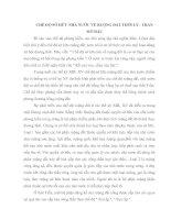 CHẾ ĐỘ SỞ HỮU NHÀ NƯỚC VỀ RUỘNG ĐẤT THỜI LÝ - TRẦN