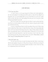 Hoàn thiện cơ cấu tổ chức Công ty xi măng Hoàng Thạch