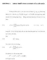 hệ phương trình hàm, chương 3