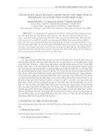 ứng dụng kỹ thuật WAVELET trong phân tích và nhận dạng các vấn đề
