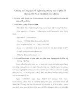 622 Nâng cao hoạt động Marketing tại Ngân hàng thương mại cổ phần kỹ thương Việt Nam – chi nhánh Hoàn Kiếm