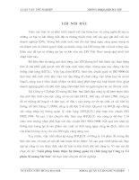Giải pháp hoàn thiện hệ thống quản trị chất lượng tại công ty cổ phần xi măng Sài Sơn