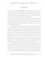 THỰC TRẠNG VÀ GIẢI PHÁP XÂY DỰNG, PHÁT TRIỂN  THƯƠNG HIỆU CỦA CÔNG TY CỔ PHẦN MẦU XANH (BLUE).