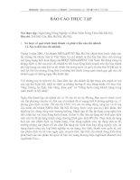 MỘT SỐ GIẢI PHÁP NHẰM NÂNG CAO CHẤT LƯỢNG CÔNG TÁC THẨM ĐỊNH DỰ ÁN ĐẦU TƯ TẠI NHN0 & PTNT BẮC HÀ NỘI.